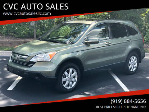 2007 Honda CR-V for sale at CVC AUTO SALES in Durham NC
