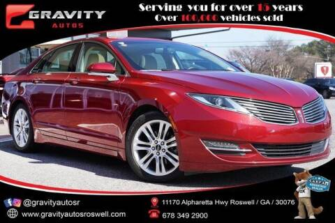 2015 Lincoln MKZ for sale at Gravity Autos Roswell in Roswell GA