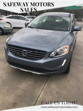 2017 Volvo XC60 for sale at Safeway Motors Sales in Laurinburg NC