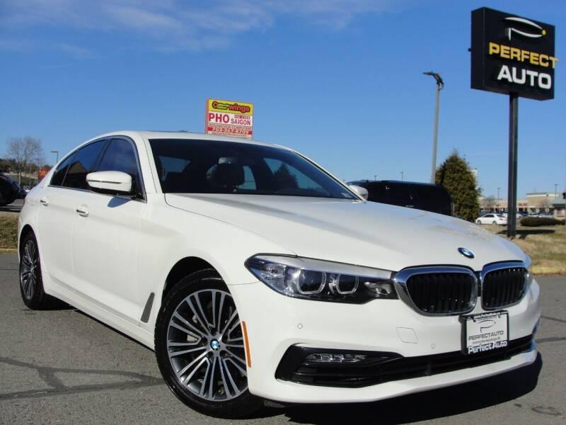 2018 BMW 5 Series for sale at Perfect Auto in Manassas VA