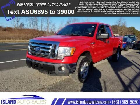 2012 Ford F-150 for sale at Island Auto Sales in E.Patchogue NY