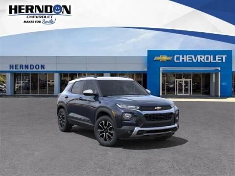 2021 Chevrolet TrailBlazer for sale at Herndon Chevrolet in Lexington SC