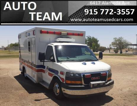 2011 GMC Savana Cutaway for sale at AUTO TEAM in El Paso TX