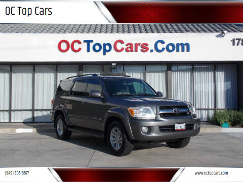 2005 Toyota Sequoia for sale at OC Top Cars in Irvine CA