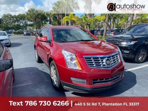2014 Cadillac SRX for sale at AUTOSHOW SALES & SERVICE in Plantation FL