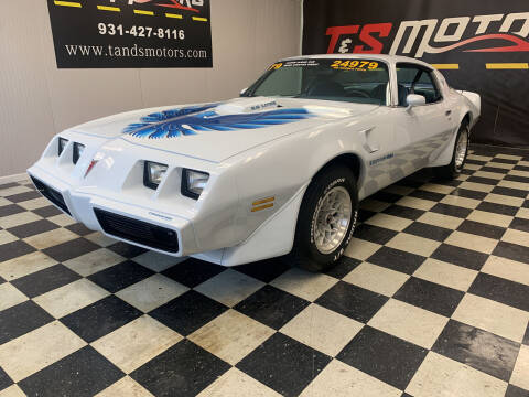 1979 Pontiac Trans Am for sale at T & S Motors in Ardmore TN