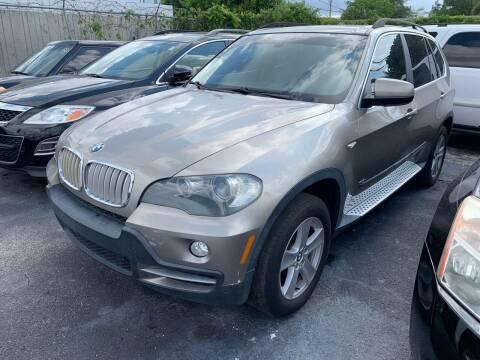 2007 BMW X5 for sale at America Auto Wholesale Inc in Miami FL