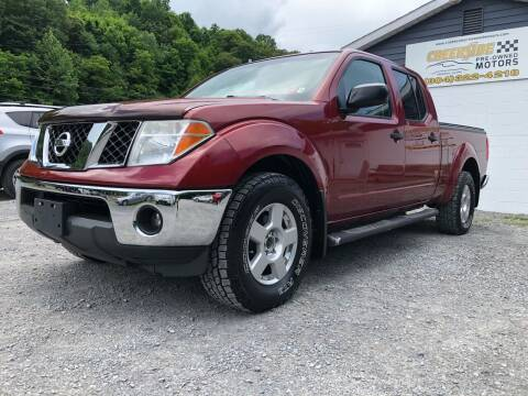 2008 Nissan Frontier for sale at Creekside PreOwned Motors LLC in Morgantown WV