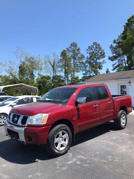 2004 Nissan Titan for sale at Northgate Auto Sales in Myrtle Beach SC