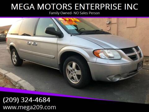 2007 Dodge Grand Caravan for sale at MEGA MOTORS ENTERPRISE INC in Modesto CA