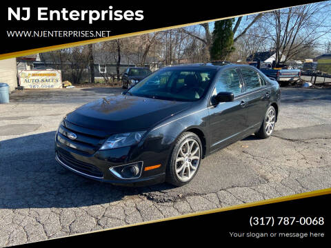2011 Ford Fusion for sale at NJ Enterprises in Indianapolis IN