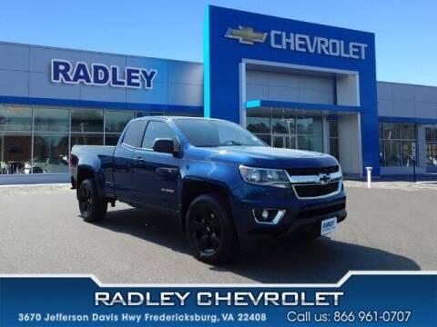 2019 Chevrolet Colorado for sale at Radley Cadillac in Fredericksburg VA
