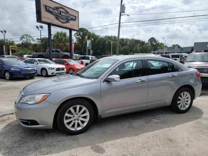 2014 Chrysler 200 for sale at Trust Motors in Jacksonville FL