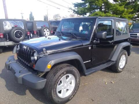 2011 Jeep Wrangler for sale at Wilson Investments LLC in Ewing NJ