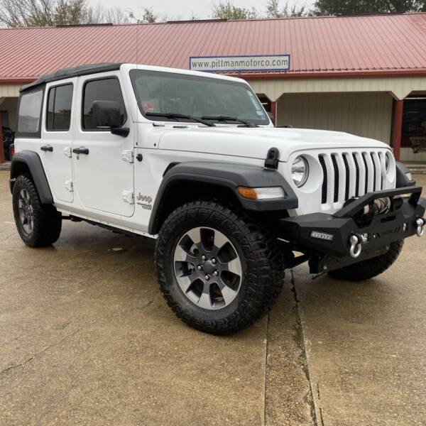 2018 Jeep Wrangler Unlimited for sale at PITTMAN MOTOR CO in Lindale TX
