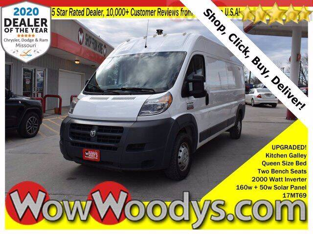 2017 RAM ProMaster Cargo for sale at WOODY'S AUTOMOTIVE GROUP in Chillicothe MO