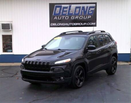 2016 Jeep Cherokee for sale at DeLong Auto Group in Tipton IN