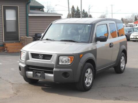 2003 Honda Element for sale at MT MORRIS AUTO SALES INC in Mount Morris MI