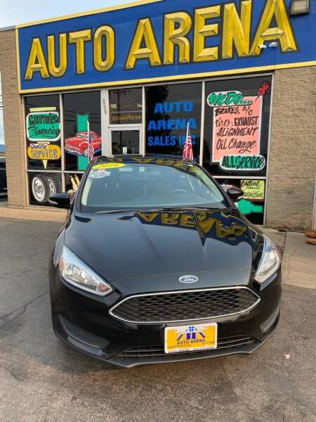 2016 Ford Focus for sale at Auto Arena in Fairfield OH