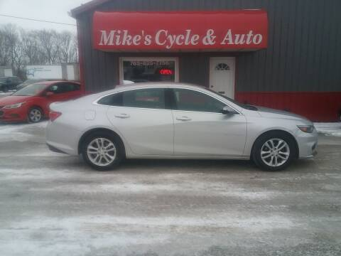 2018 Chevrolet Malibu for sale at MIKE'S CYCLE & AUTO in Connersville IN
