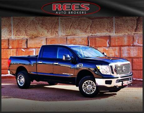 2017 Nissan Titan XD for sale at REES AUTO BROKERS in Washington UT