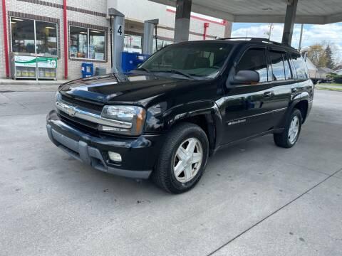 2002 Chevrolet TrailBlazer for sale at JE Auto Sales LLC in Indianapolis IN
