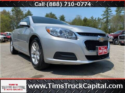 2015 Chevrolet Malibu for sale at TTC AUTO OUTLET/TIM'S TRUCK CAPITAL & AUTO SALES INC ANNEX in Epsom NH