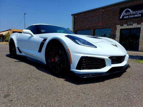 2015 Chevrolet Corvette for sale at AUTO BARGAIN, INC. #2 in Oklahoma City OK