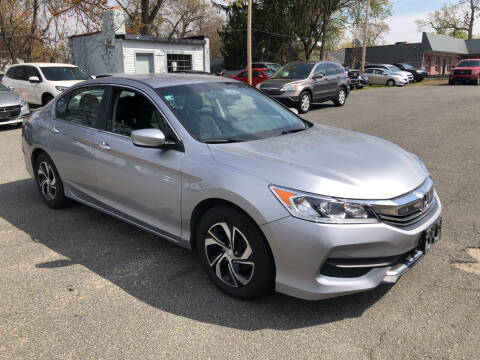 2017 Honda Accord for sale at Chris Auto Sales in Springfield MA