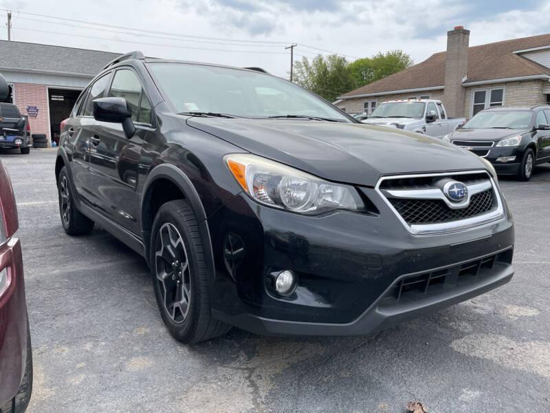 2015 Subaru XV Crosstrek for sale at Rine's Auto Sales in Mifflinburg PA