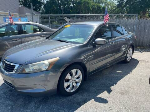 2009 Honda Accord for sale at JK & Sons Auto Sales in Westport MA