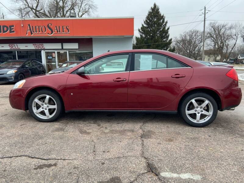 2009 Pontiac G6 for sale at RIVERSIDE AUTO SALES in Sioux City IA