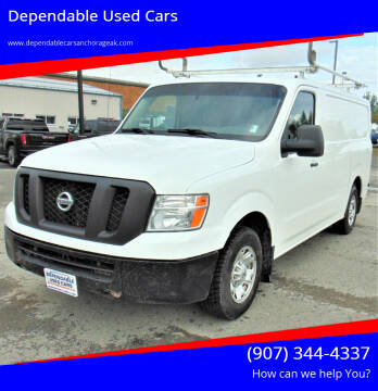 2015 Nissan NV Cargo for sale at Dependable Used Cars in Anchorage AK