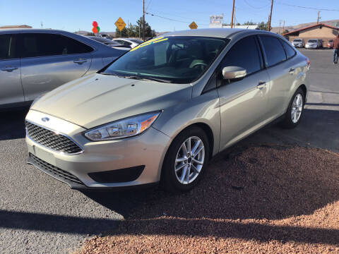 2015 Ford Focus for sale at SPEND-LESS AUTO in Kingman AZ