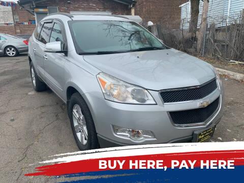2012 Chevrolet Traverse for sale at Rallye  Motors inc. in Newark NJ