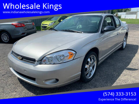 2007 Chevrolet Monte Carlo for sale at Wholesale Kings in Elkhart IN
