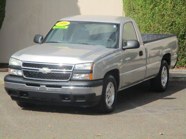 2006 Chevrolet Silverado 1500 for sale at Select Cars & Trucks Inc in Hubbard OR