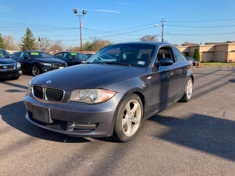 2008 BMW 1 Series for sale at Majestic Automotive Group in Cinnaminson NJ