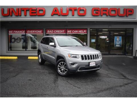 2015 Jeep Grand Cherokee for sale at United Auto Group in Putnam CT