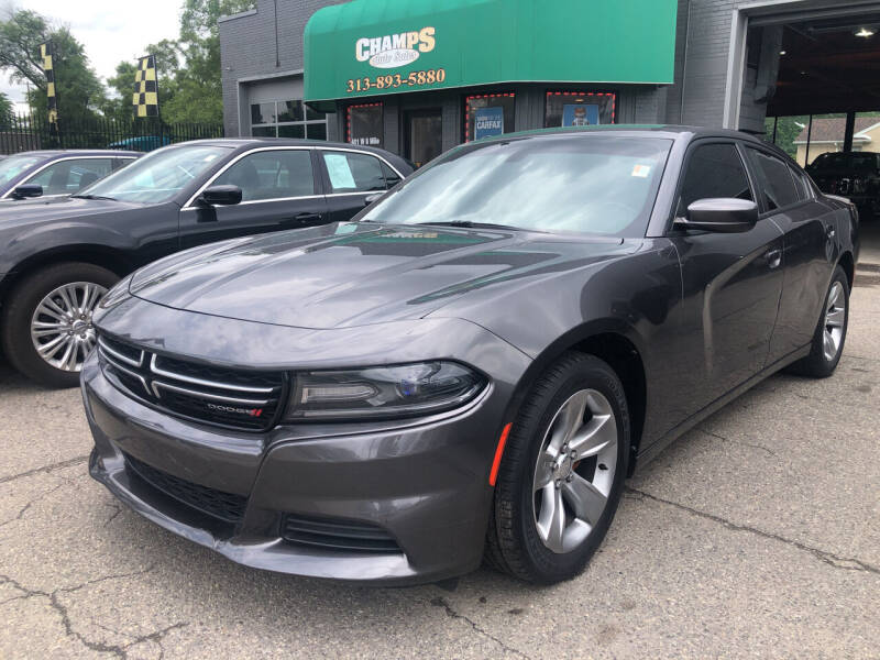 2015 Dodge Charger for sale at Champs Auto Sales in Detroit MI