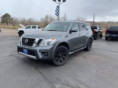 2018 Nissan Armada for sale at Lakeside Auto Brokers Inc. in Colorado Springs CO