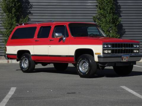 1989 Chevrolet Suburban for sale at Sun Valley Auto Sales in Hailey ID