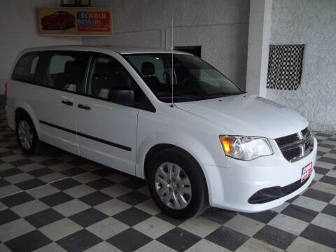 2015 Dodge Grand Caravan for sale at Schalk Auto Inc in Albion NE