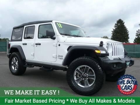2018 Jeep Wrangler Unlimited for sale at Shamrock Motors in East Windsor CT
