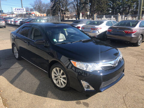 2012 Toyota Camry for sale at Chris Auto Sales in Springfield MA