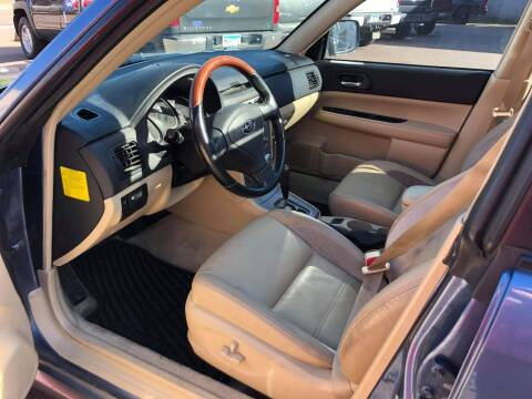 2007 Subaru Forester for sale at WB Auto Sales LLC in Barnum MN