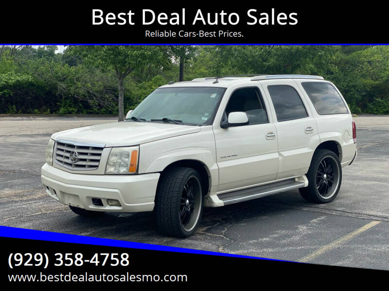 2005 Cadillac Escalade for sale at Best Deal Auto Sales in Saint Charles MO