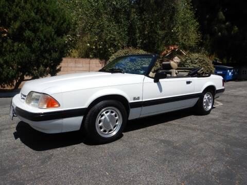 1989 Ford Mustang for sale at California Cadillac & Collectibles in Los Angeles CA