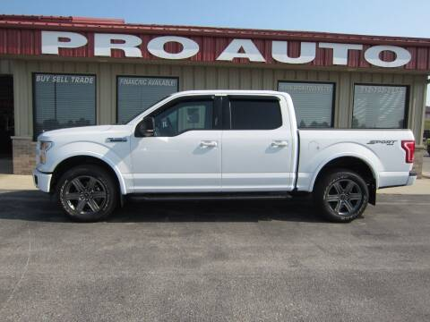 2016 Ford F-150 for sale at Pro Auto Sales in Carroll IA