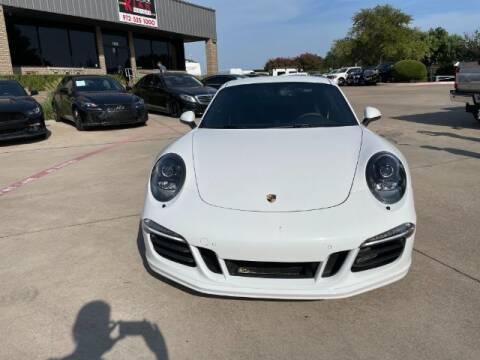 2016 Porsche 911 for sale at KIAN MOTORS INC in Plano TX